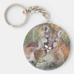 Mountain Lion - Hmmm Key Chain