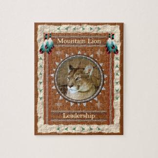 Mountain Lion  -Leadership- Jigsaw Puzzle w/ Box