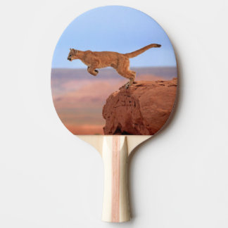 Mountain Lion Ping Pong Paddle