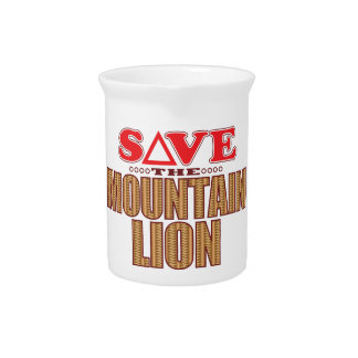 Mountain Lion Save Pitcher