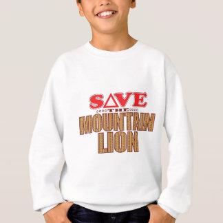 Mountain Lion Save Sweatshirt