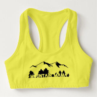 Mountain mama sports bra