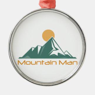 Mountain Man Christmas Ornament