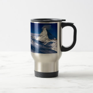 Mountain Matterhorn Valais Switzerland Travel Mug