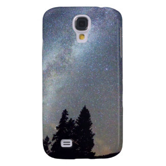 Mountain Milky Way Stary Night View Galaxy S4 Case