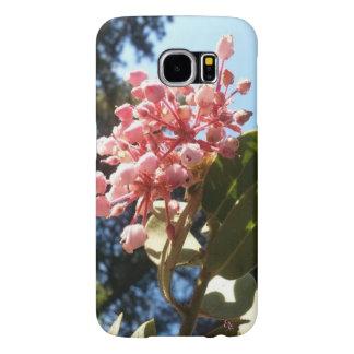 Mountain Mohogany Blossom Pines Blue Sky Samsung Galaxy S6 Cases