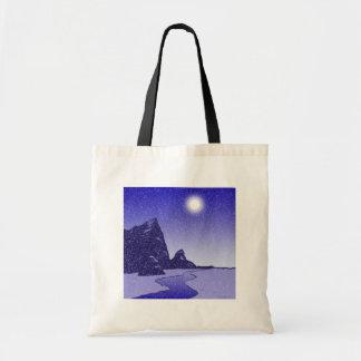 Mountain Moon Budget Tote Bag