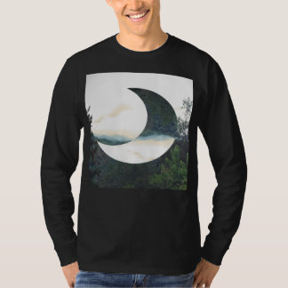 Mountain Moon Hipster T-Shirt