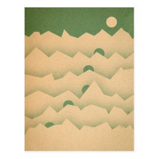 Mountain Moon Rising Postcard