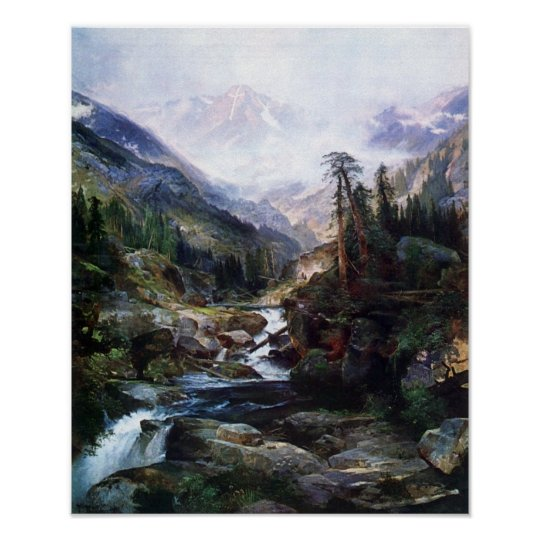 Mountain of the Holy Cross by Thomas Moran Poster