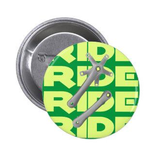 Mountain or Road Bike Crankset 6 Cm Round Badge