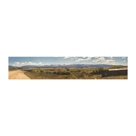 Mountain Panorama Canvas Print