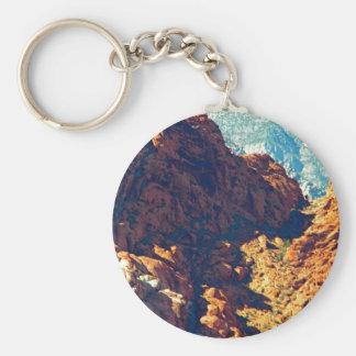 Mountain Pass Key Chains