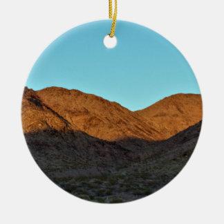Mountain Photo Christmas Ornament