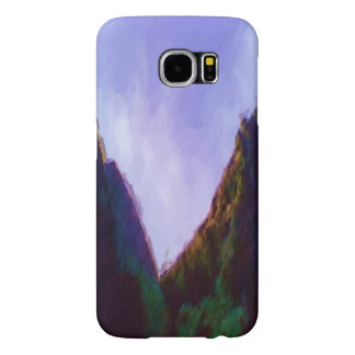 Mountain photo paint samsung galaxy s6 cases