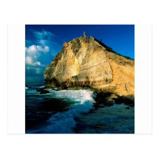 Mountain Pointe Des Chateaux Guadeloupe Postcard