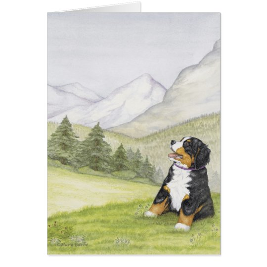 Mountain Pup Card