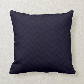 Mountain Purple Chevron Lines Cushion