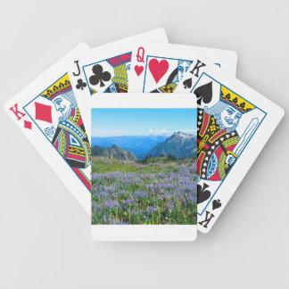 Mountain Purple Heather Haze Card Deck