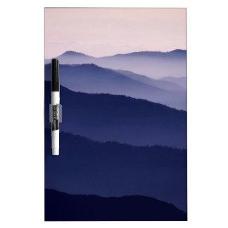 Mountain Purple Majesty Sequoia Park Californi Dry Erase Whiteboards