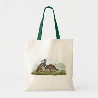Mountain Quail by Audubon Budget Tote Bag