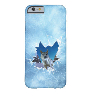 Mountain Rage iPhone Cover - Wolf Vertical