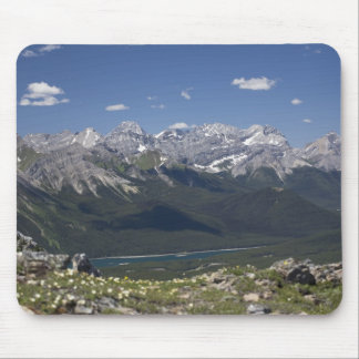 Mountain Range And Lake From On Top Of A Mountain Mouse Mat