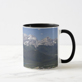 Mountain Range And Lake From On Top Of A Mountain Mug