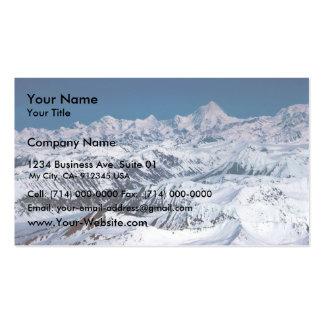Mountain Range Business Card Templates