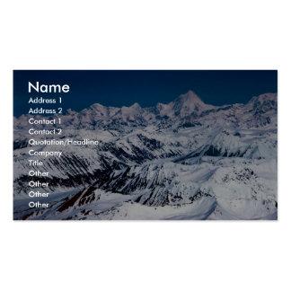 Mountain Range Business Cards
