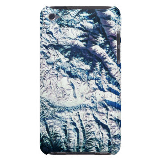 Mountain Range from Satellite Barely There iPod Covers