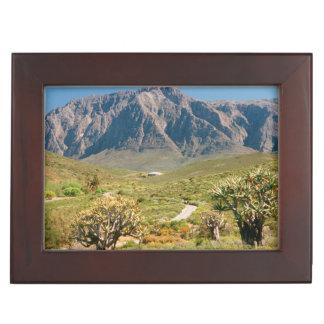 Mountain Range, Worcester Nature Reserve Keepsake Box