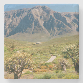 Mountain Range, Worcester Nature Reserve Stone Coaster
