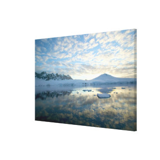 Mountain Ranges around Port Lockeroy Gallery Wrapped Canvas