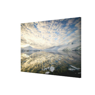 Mountain Ranges around Port Lockeroy with Canvas Print