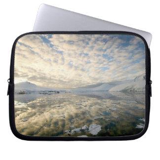 Mountain Ranges around Port Lockeroy with Laptop Sleeve
