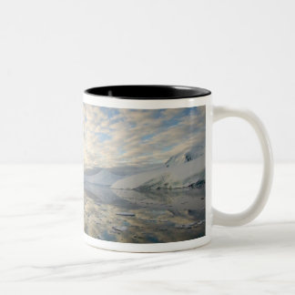 Mountain Ranges around Port Lockeroy with Two-Tone Coffee Mug