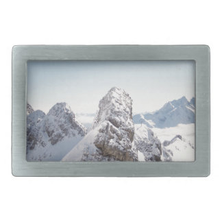 Mountain Rectangular Belt Buckles