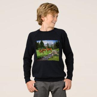 Mountain Red Deer Safari Sweatshirt