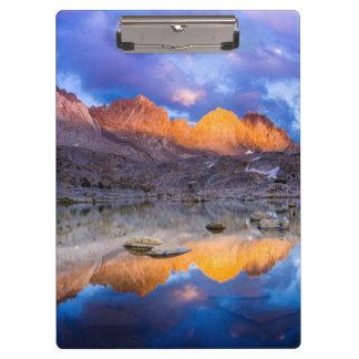 Mountain reflection, California Clipboard