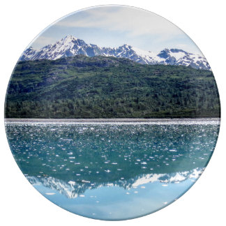 Mountain Reflections Plate Porcelain Plates