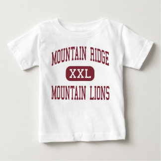 Mountain Ridge - Mountain Lions - High - Glendale Baby T-Shirt