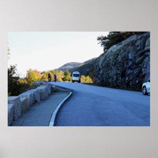 Mountain Roadway Photo Poster