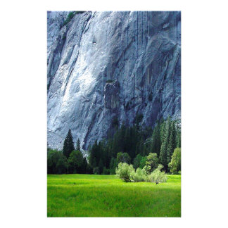 Mountain Rock Climbing Rockface Stationery