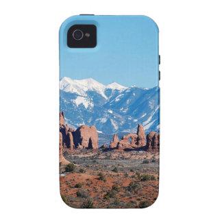 Mountain Rockys Desert Vibe iPhone 4 Case