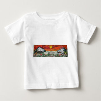 mountain scene baby T-Shirt