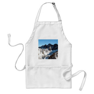 Mountain Snow Covering Aprons