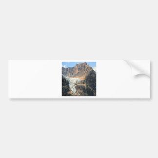 Mountain Snow Ice Cream Bumper Sticker