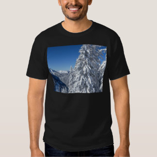 Mountain Snowscape Tees