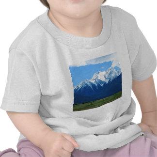 Mountain Snowy Peak Contrast Shirts